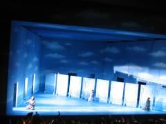 terzet del segon acte. Desdemona, Otello i Rodrigo. Foto ximo