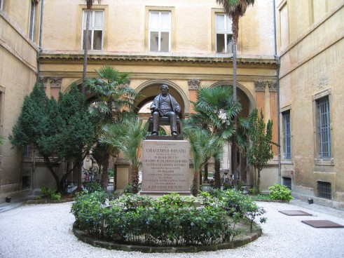 El Conservatori de Pesaro. Foto ximo