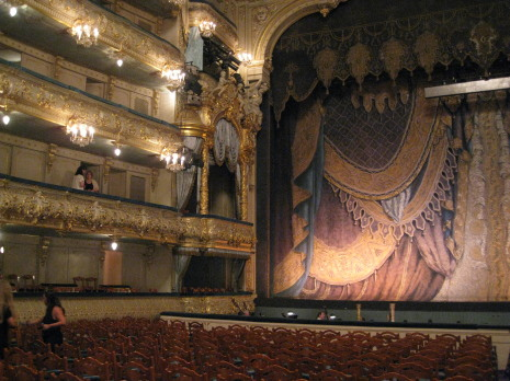 Interior del Teatre Mariinski. Foto pfp
