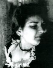 Callas com a Marta a Atenes a l'any 1945