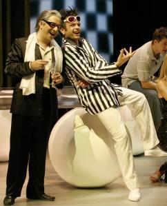 Gamberotto (De Simone) i Buralicchio (Marco Vinco) acte I