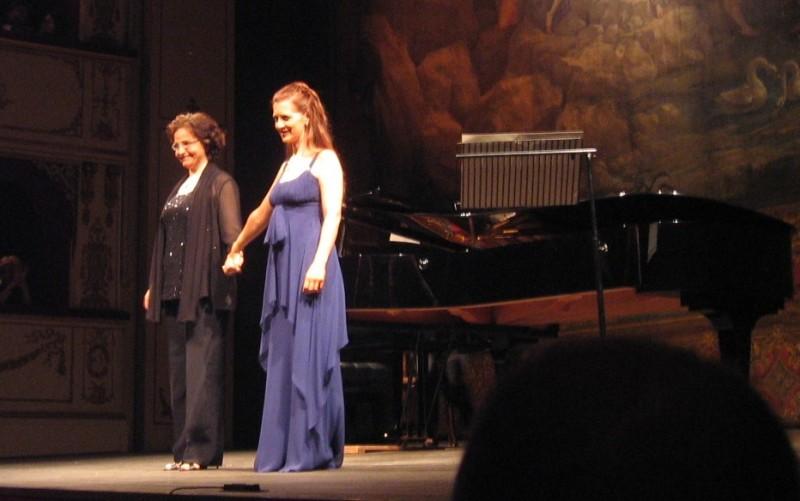 Patricia Ciofi i Carmen Santoro 22/08/2008 Teatro Rossini (Pesaro)