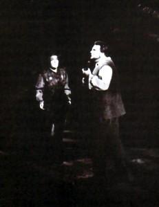 Leonie Rysanek i Ludovico Spies en l'escena de la presó - foto Fayer