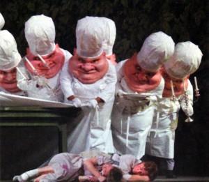 Els inquietants i deliciosos cuiners del final del primer acte