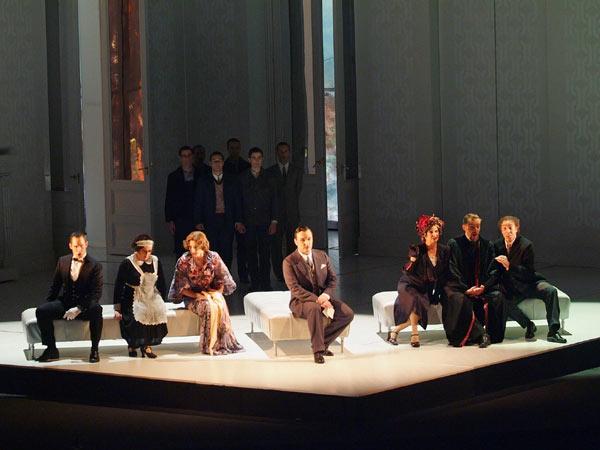 Ketelsen, Sala, Bell, Tézier, McLaughlin, Röhlig i Giménez (foto Bofill)