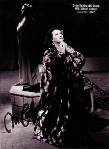 La Salomé de la Caballé al Liceu, 20 anys més tard, 1977