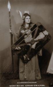 La Brünnhilde de Gertrude Grob-Prandl