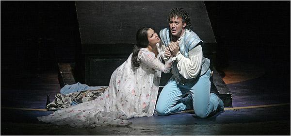 Joseph Kaiser (Roméo) Anna Netrebko (Juliette) MET