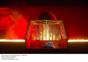 La caseta de les valquíries en flames