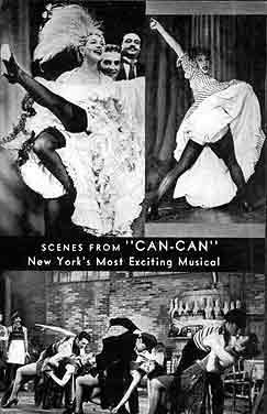 fotografies del Can Can original de 1953 amb Lilo