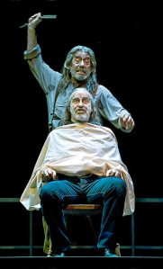 Joan Crosas (Sweeney) i Xavier Ribera (Jutge)