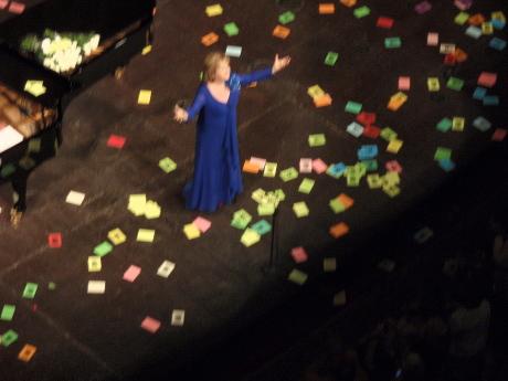 Edita Gruberova al Liceu, 21 de juny de 2009