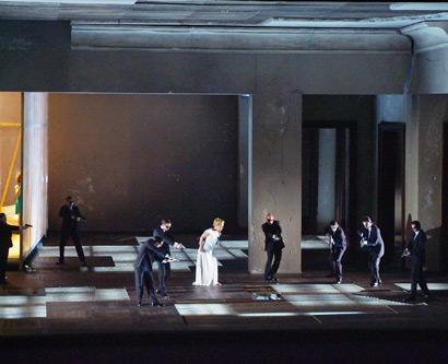 Escena primera de la nova producció de la Salome al Liceu. Foto Bofill