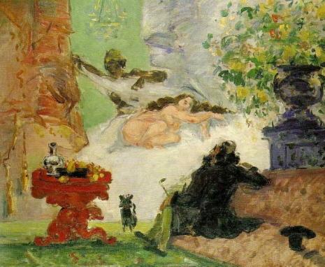 Paul Cezanne - Una Olympia moderna