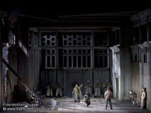 Die Walküre Bayreuth Acte 1er Producció Tankred Dorst