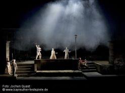 Final del Rheingold a Bayreuth segons la producció de Tankred Dorst