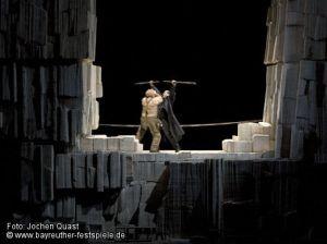 Siegfried acte 3er - Bayreuth - Producció de Tankred Dorst