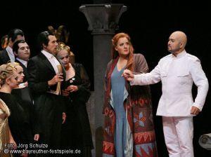 Götterdämmerung - Bayreuth - acte 2on Linda Watson i Ralf Lukas