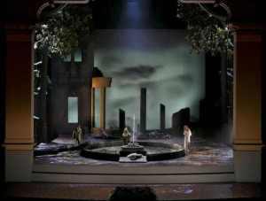 Parsifal  Bayreuth - inici acte 3er. Producció Stefan Herheim