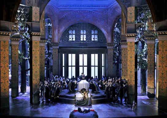 Parsifal Bayreuth final acte 1er - Producció:  Stefan Herheim
