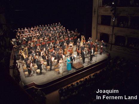 Teatro Rossini (Pesaro) Aldrich, Bonitatibus, Carignani, Meli, Palazzi, Cor de Cambra de Praga i orquestra del Teatro Comunale di Bologna. 20 d'agost de 2009