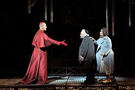 Alastair Miles, Dennis O'Neill i Ángeles Blancas a La Juive de la  De Nederlandse Opera. 2009