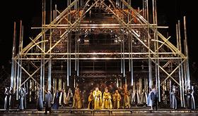 Concertant de La Juive segons la producció de Pierre Audi