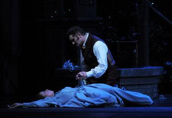 Ana María Martínez i Piotr Beczala al Faust de Chicago 2009 (AP Photo/Lyric Opera of Chicago, Dan Rest)