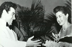 Mario Lanza i Esther Williams, ambdós, estels de la MGM