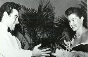 Mario Lanza i Esther Williams, ambdós, estels de la MGM
