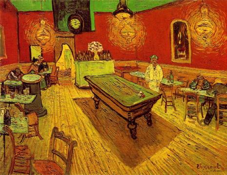 Van Gogh le Café de nuit place Lamartine à Arles (1888)
