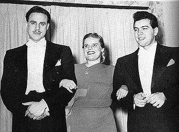 George London, Frances Yeend i Mario Lanza