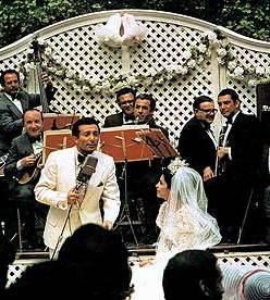 Al Martino (Johnny Fontana) a The Godfather (F.F.Coppola -1972)