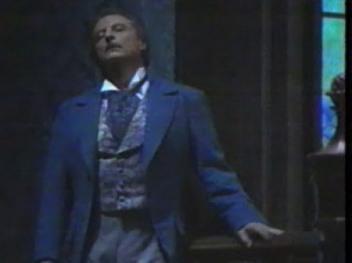 Alfredo Kraus (Werther) al Liceu 1992. producció Hugo de Ana