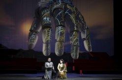 un moment del Tannhäuser a la Scala de Milano, segons La Fura del Baus (Carlus Padrissa)