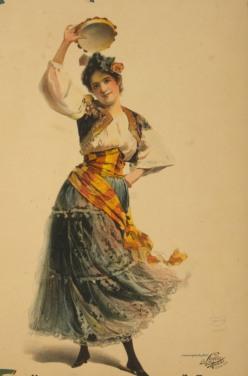 Rosabel Morrison en Carmen (a l'entorn de 1896)
