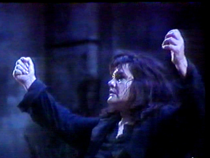 Eva Marton (Elektra al Liceu el 4 de febrer de 1990, producció signada per Núria Espert)