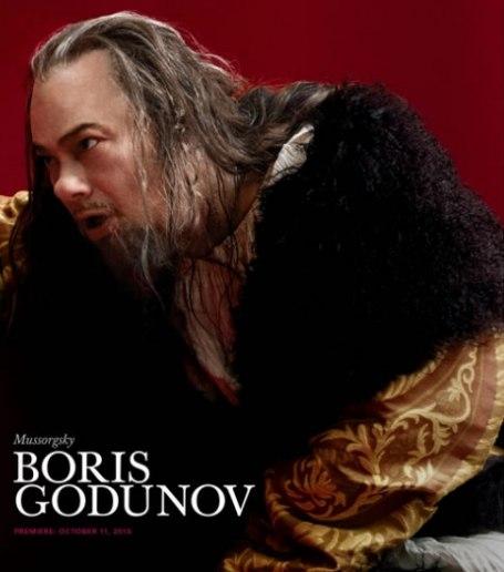 René Pape Boris Godunov al MET Foto: Nick Heavican / Metropolitan Opera House