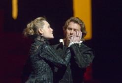 Marina Poplavskaya i Roberto Alagna al Don Carlo del MET. Producció Nicholas Hytner