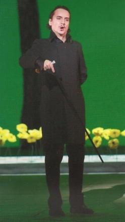 Artur Rucinski (Oneguin a Les Arts, producció de Mariusz Trelinski)