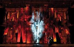 Die Walküre final acte 3er MET 2011 Foto:Yves Renaud/Metropolitan Opera