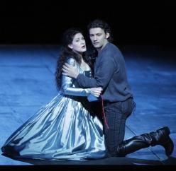 Anja Harteros i Jnas Kaufmann al Don Carlo de Munic. Producció de J.Rose
