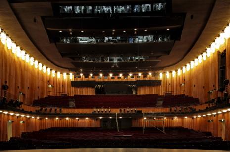 Teatre Schiller Berlín interior Foto Thomas Bartilla