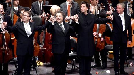 De Billy, Pons, Weigle i Boder Liceu 22/04/2012. Foto gentilesa de Josep i Glòria