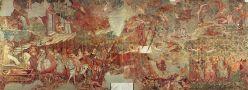 El triomf de la mort de Bonamico Buffalmaco (1336) Fresc cementiri de Pisa