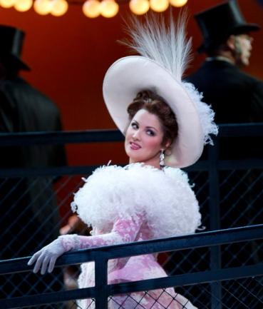 Anna Netrebko Manon al MET. Producció Laurent Pelly