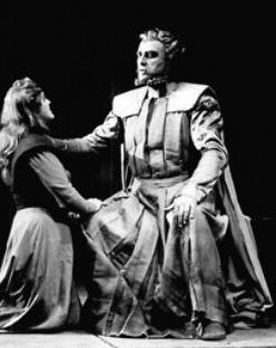 Han Hotter Wotan al costat de la Brunnhilde de Birgit Nilsson 1956. Fotografia de San Francisco Opera.