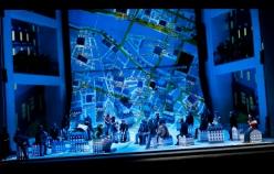 La Bohème acte 2on, producción de Damiano Michieletto pel Festival de Salzburg 2012