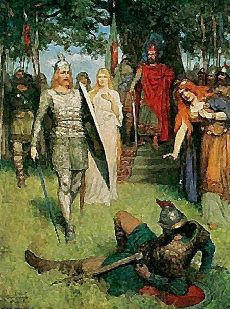 Lohengrin, pintura de 1910
