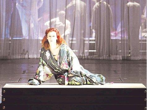 Patricia Petibon, Gilda a Rigoletto (Munic 2012) Foto Wilfried Hösl